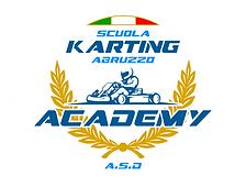 Logo Scuola Karting Abruzzo Academy SENZ