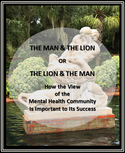 The Man and The Lion - Statue.PNG