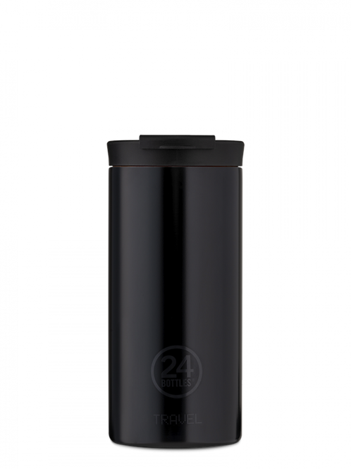 TRAVEL TUMBLER BLACK 600ML