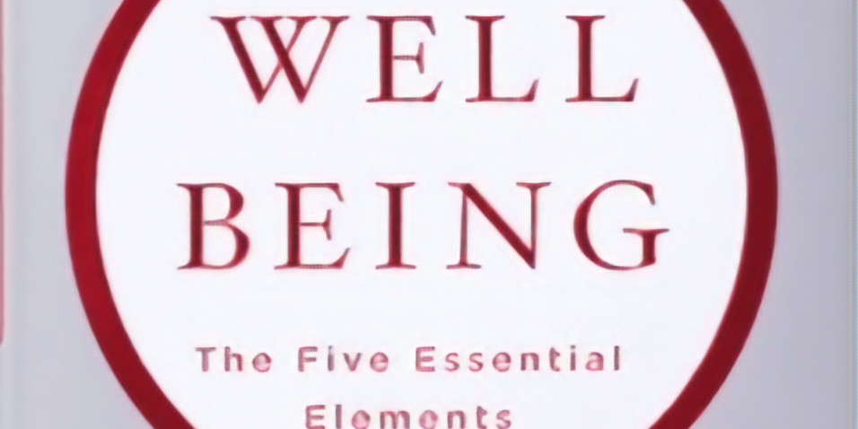 Week 1 - Book Discussion - Wellbeing