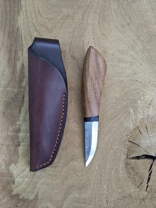 Old oak sheath knife