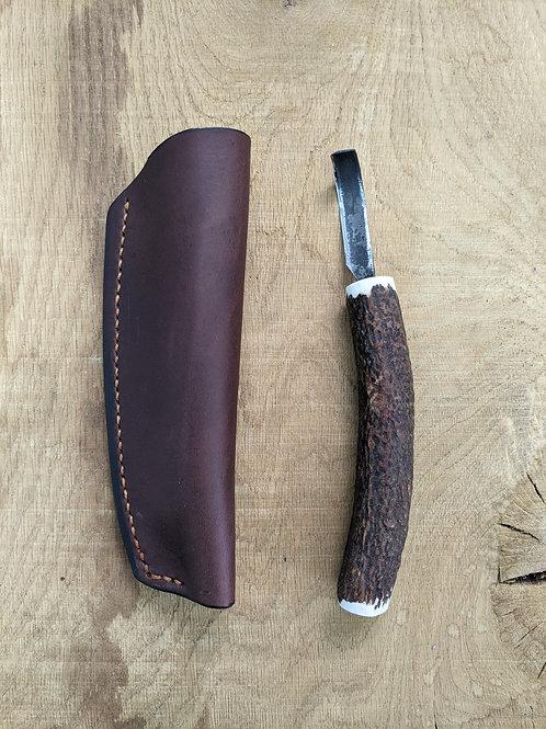 Scottish antler spoon knife