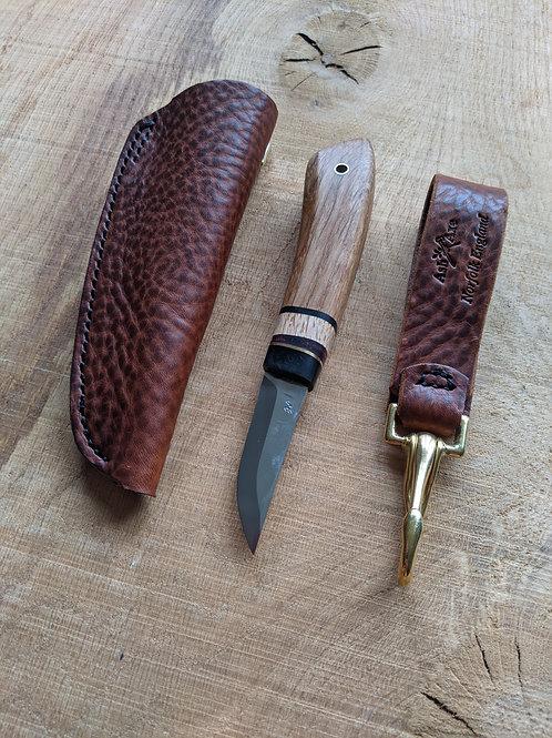 Medieval Oak knife set