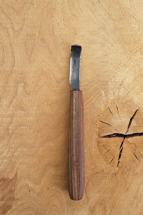 Walnut spoon knife set