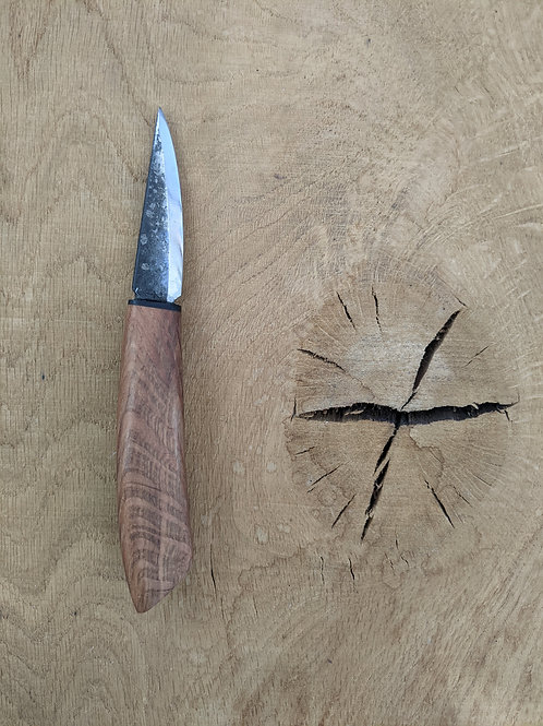 Spalted holm oak knife