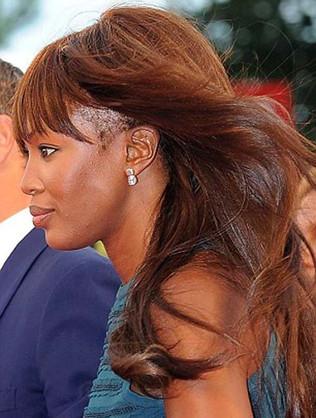 Naomie n'aura bientôt plus de cheveux !