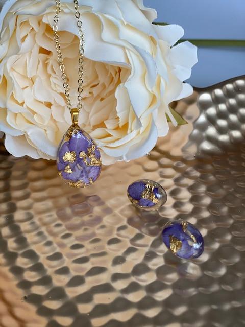 Purple Petals set