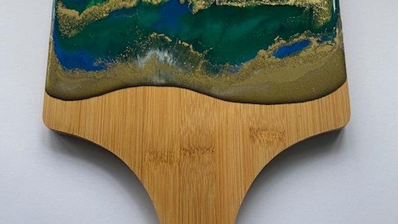 Paddle Food Display Board