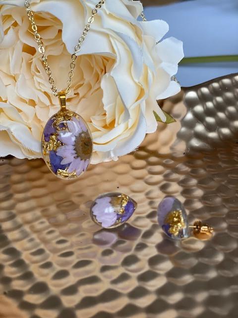 Lilac Daisy set