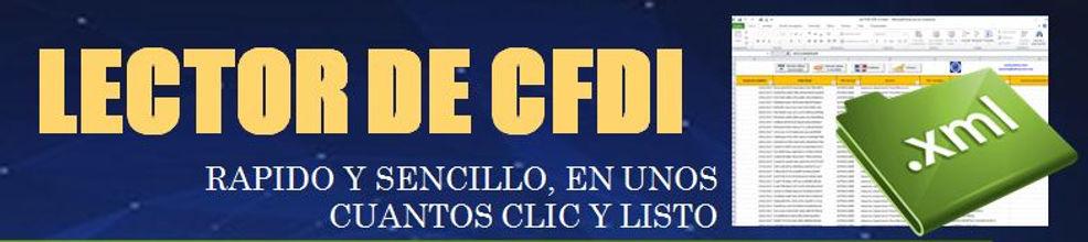 Lector de CFDI o XML