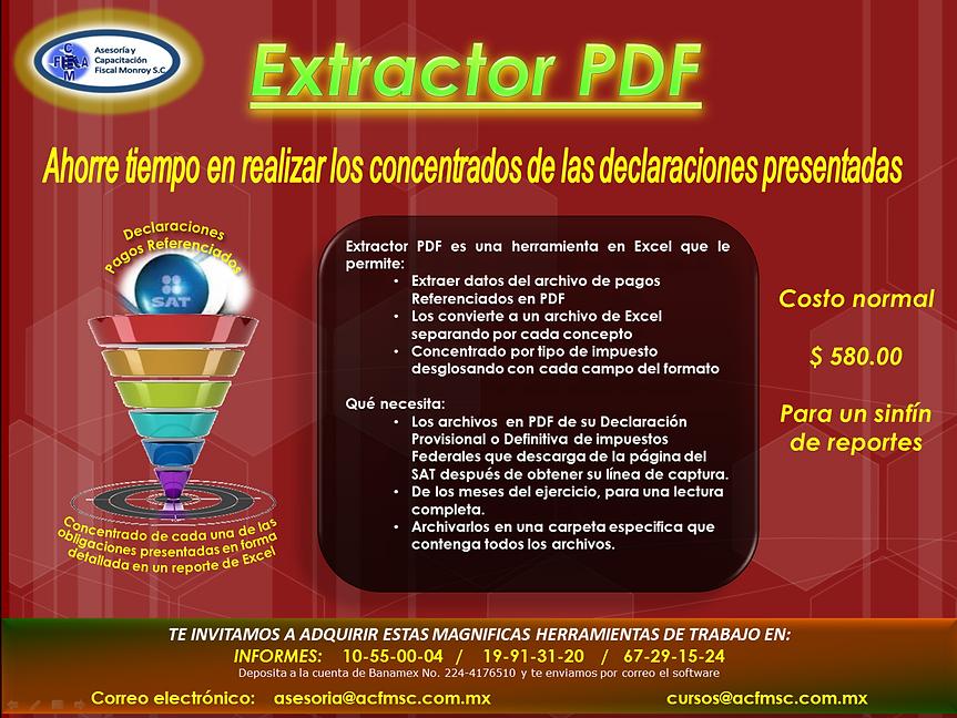 Extractor de información declaraciones