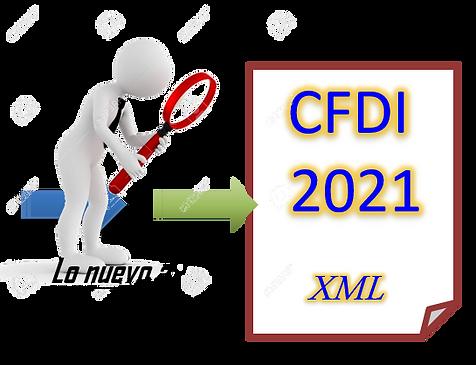 Cambios al CFDI del 2021