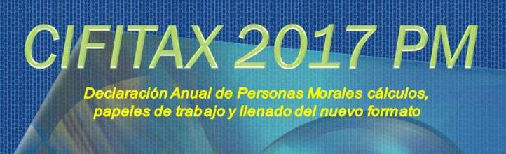 Programa para la declaración anual de personas morales