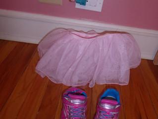 Pink Socks, Pink Shoes, Pink Tutu