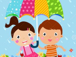 Does an umbrella keep us warm?
