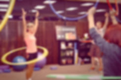 Hula Hoops fitness classes workout instructor
