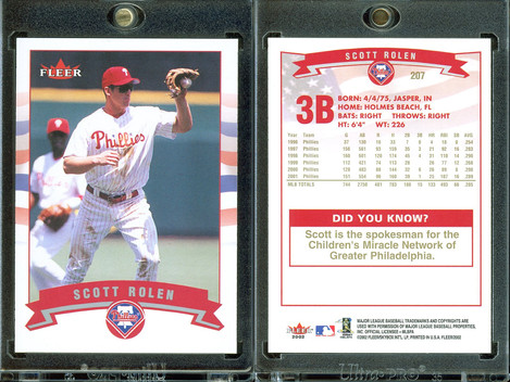 2002 Fleer - Gold Backs #207