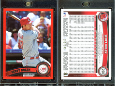2011 Topps - Factory Set Red Border #228 SN245