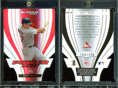 2005 Donruss - Power Alley Red Die Cut #PA-23 SN250