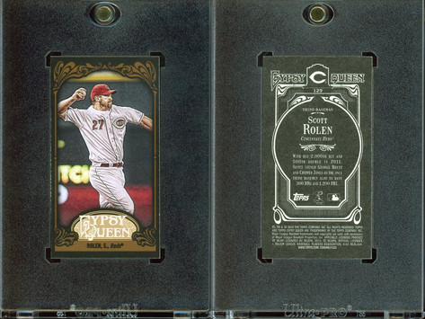2012 Topps Gypsy Queen - Mini Black #129