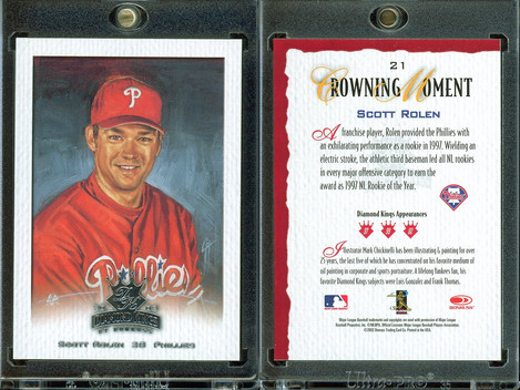 2002 Donruss Diamond Kings #21