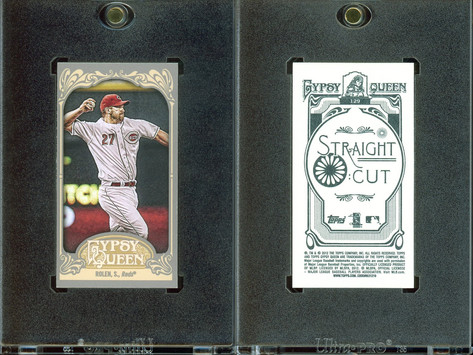 2012 Topps Gypsy Queen - Mini Straight Cut Back #129