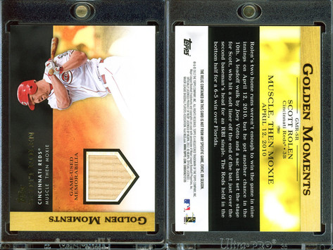 2012 Topps - Golden Moments Relics #GMR-SR MEM Bat