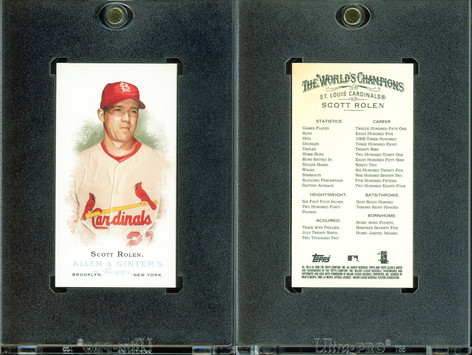 2006 Topps Allen & Ginter - Mini No Card Number #222