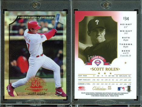 1998 Donruss Collections Leaf - Prized Collections #PC333