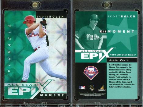 1998 Score Rookie & Traded - All-Star Epix Emerald #E11