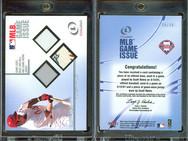 2001 Fleer Legacy - MLB Game Issue Base-Ball-Jersey #9 MEM, SN50