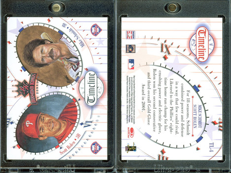 2002 Donruss Diamond Kings - Timeline #TL4