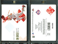 2002 Fleer Premium - On Base! Game Used #22 MEM, SN100