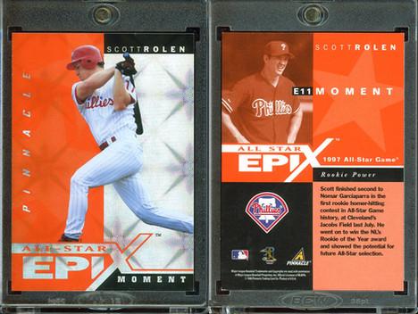 1998 Score Rookie & Traded - All-Star Epix Orange #E11