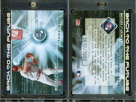2002 Donruss Elite - Back to the Future #9 SN1000