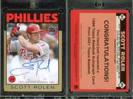 2021 Topps - 1986 Topps Baseball 35th Anniversary Autographs Gold #86A-SR AU, SN50