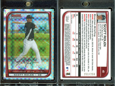 2008 Bowman Chrome - X-Fractors #41 SN250