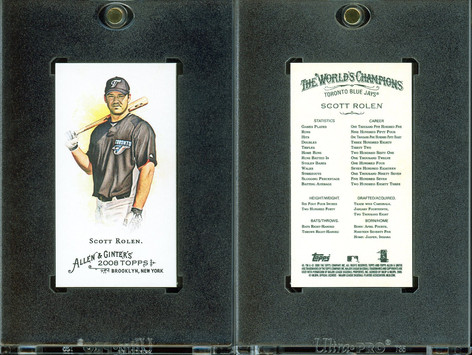 2008 Topps Allen & Ginter - Mini No Card Number #91