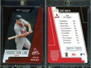 2005 Donruss - Production Line OPS #PL-8 SN1007
