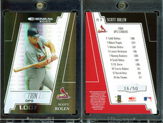 2005 Donruss - Production Line OPS Black #PL-8 SN50