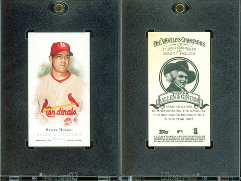 2006 Topps Allen & Ginter - Mini A and G Back #222