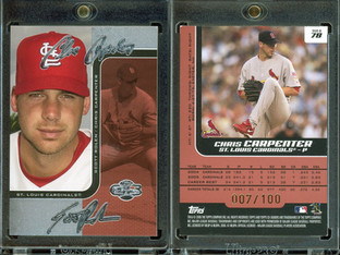 2006 Topps Co-Signers - Changing Faces Silver Red #78b SN100