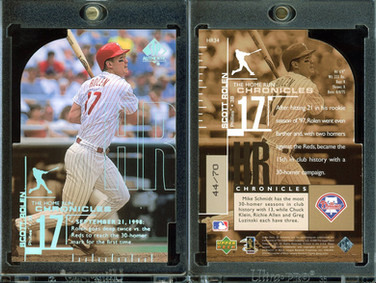 1999 SP Authentic - Home Run Chronicles Die Cuts #HR34 SN70