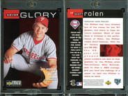1998 Collector's Choice #12 CG, VAR Home plate shaped hologram on back