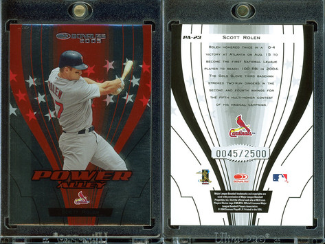 2005 Donruss - Power Alley Red #PA-23 SN2500