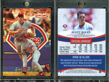 1999 Topps Gold Label Class 1 Red #74 SN100