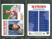1998 Collector's Choice #261 TOP, VAR Home plate shaped hologram on back