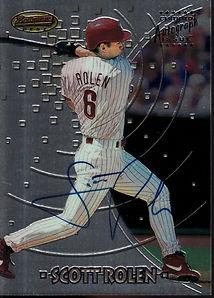 1997 Bowman's Best - Autographs #194 Sco