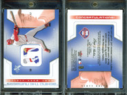 2002 Fleer E-X - Behind the Numbers Game Jersey #NNO MEM