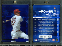 2004 Donruss - Power Alley Blue #PA10 SN1000